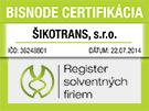 Bisnode Certifikácia